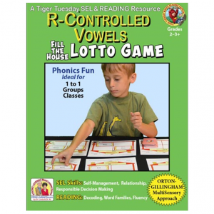 L604D R-Controlled Vowels LOTTO GAME - COVER 500H 60
